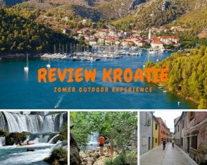 Review Zomer Outdoor Experience Kroatië