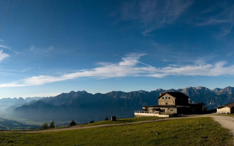 01Inntaler Höhenweg:Bergstation Patscherkofel