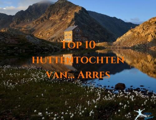 Top 10 huttentochten van… Arres