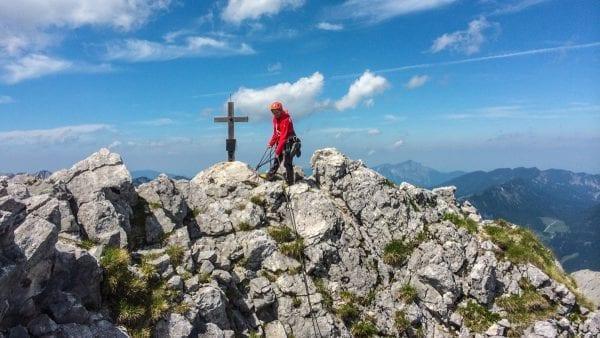 Basiscursus rotsklimmen Berchtesgadener Alpen