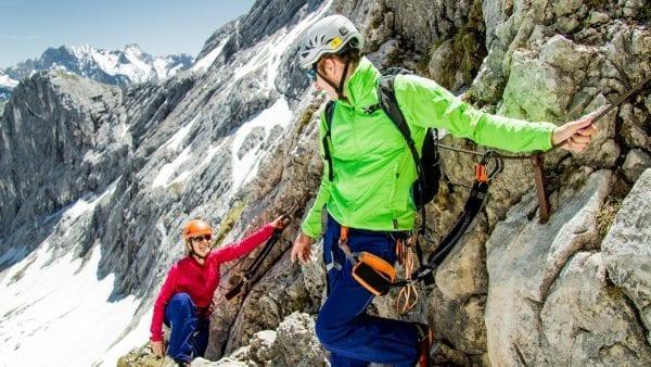 Basiscursus klettersteigen Alpspitze