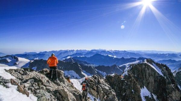 Eiger, Matterhorn & Mont Blanc