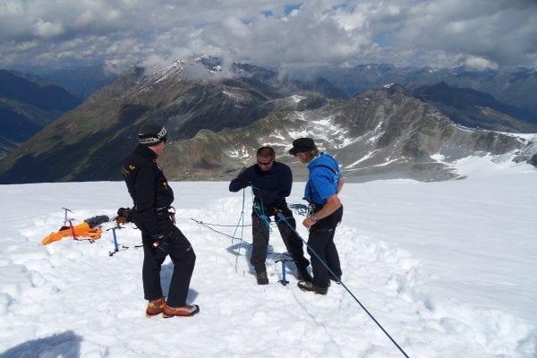 Gevorderdencursus rots & ijs Stubaier Alpen