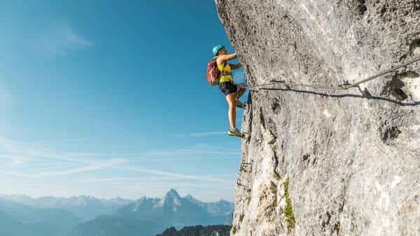 Gevorderdencursus klettersteigen Berchtesgaden