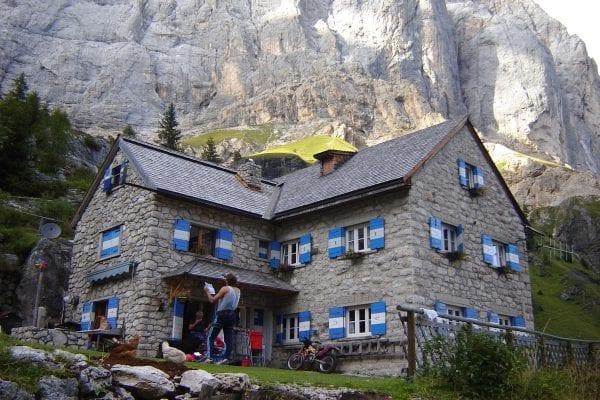 Rond het Val di Fassa