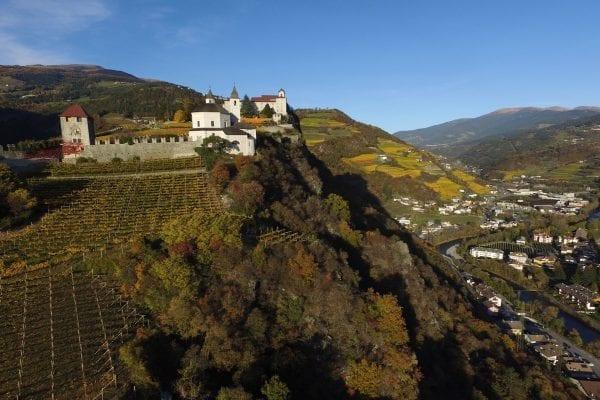 Südtiroler wein- und kastanienweg