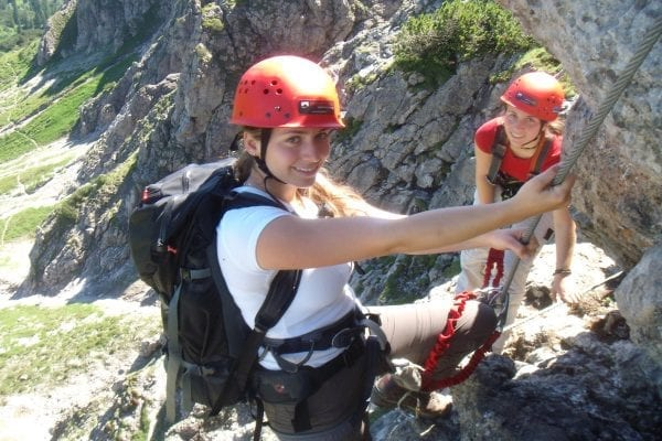 Klettersteigen in het hart van Tirol