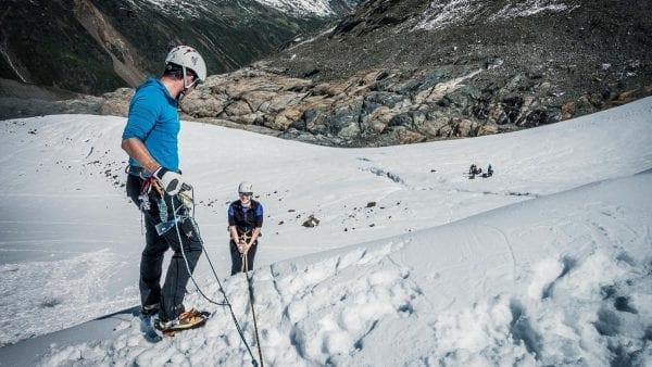 Basiscursus sneeuw & ijs Ötztaler Alpen met Wildspitze