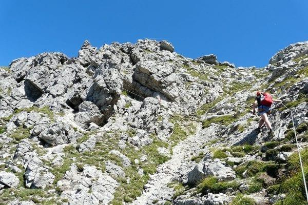 Klettersteig Transalp