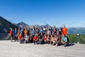Bedrijfsreis: actieve teambuilding