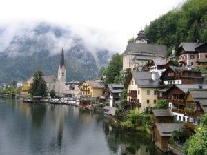 De geschiedenis van de Salz Alpen