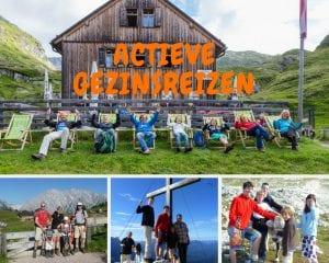 Actieve vakantie met kinderen