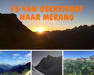 E5 van Oberstdorf naar Merano