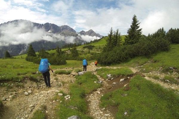 van de Zugspitze naar Merano