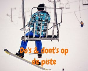 Do's en dont's op de piste