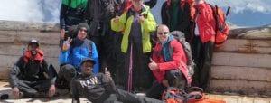 HVO Querido op de Zugspitze
