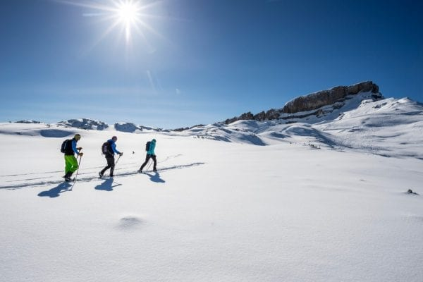 Sneeuwschoenwandelen, Allgäu