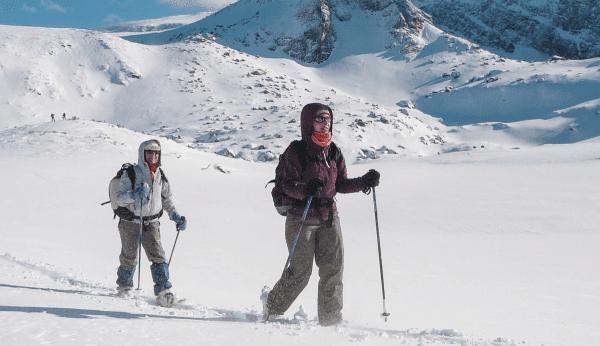 Sneeuwschoenwandelen, Lechtal