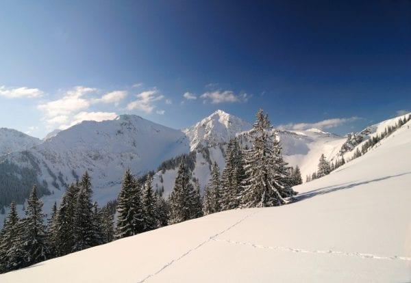Sneeuwschoenwandelen, Tannheimertal