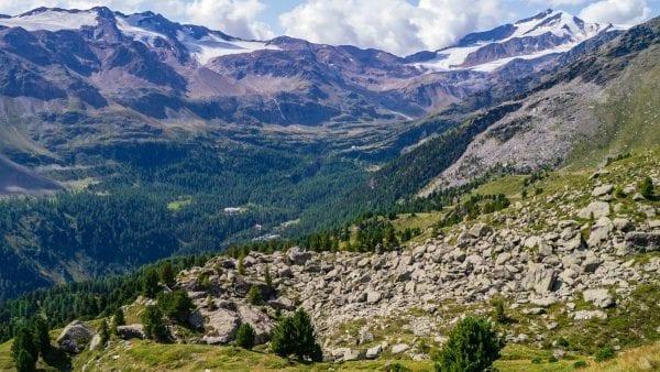 Wandelen in de Marteller bergen