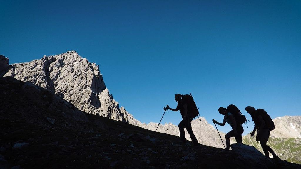 bergwandelen door oostenrijk