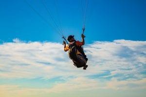 Multisporten: paragliding in Oostenrijk