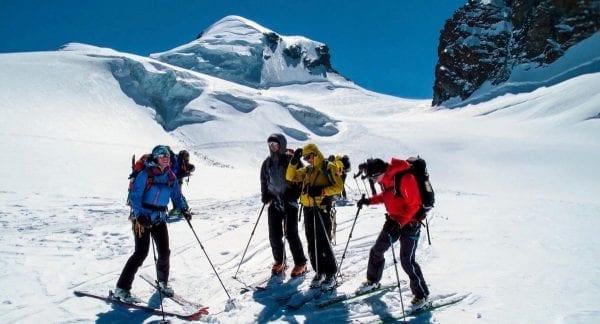Monte Rosa met Dufourspitze